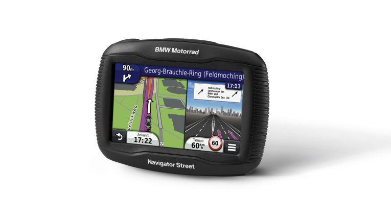 BMW Navigator Street mit 4,3 Zoll Touchscreen