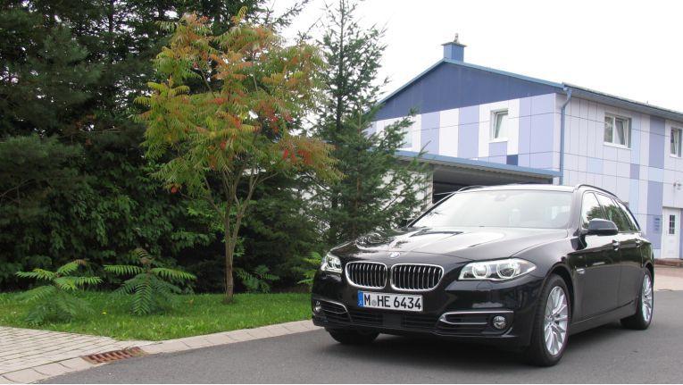 Der Testwagen: BMW 535i (F11) Touring in der Luxury Line.