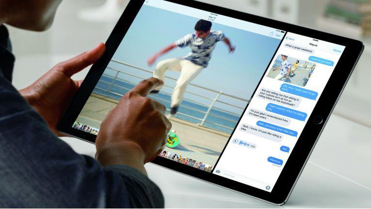 Das iPad Pro 2018 (hier das 2015er-Modell) kommt u.a. mit einem neuen Apple Pencil.
