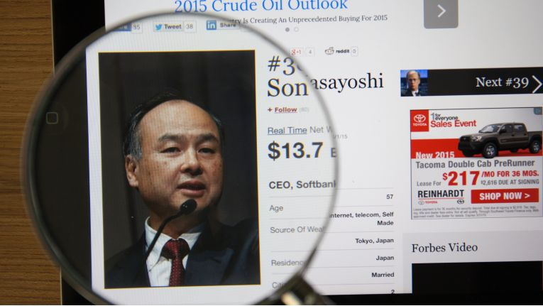 Tech-Milliardär Masayoshi Son