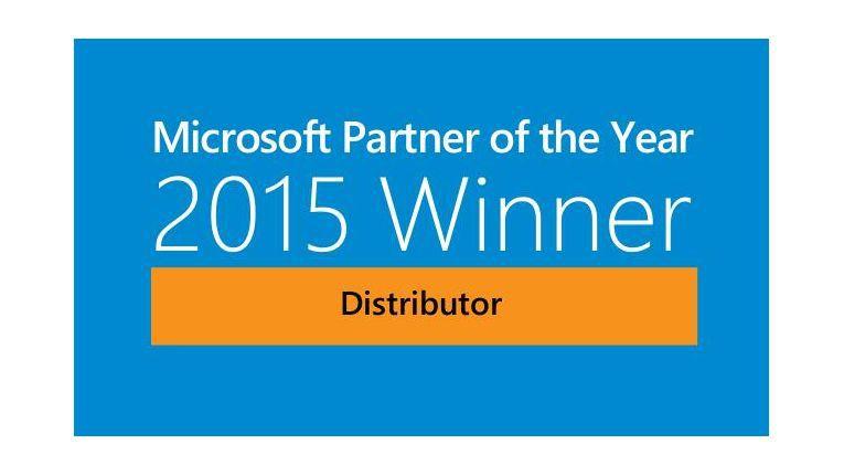 Auch die Erfolge des Unternehmens im Bereich der Cloud Services, wie die wachsende Anzahl der Vertriebspartner und das starke Umsatzwachstum, wurden mit dem Microsoft Distribution Partner of the Year Award 2015 anerkannt.