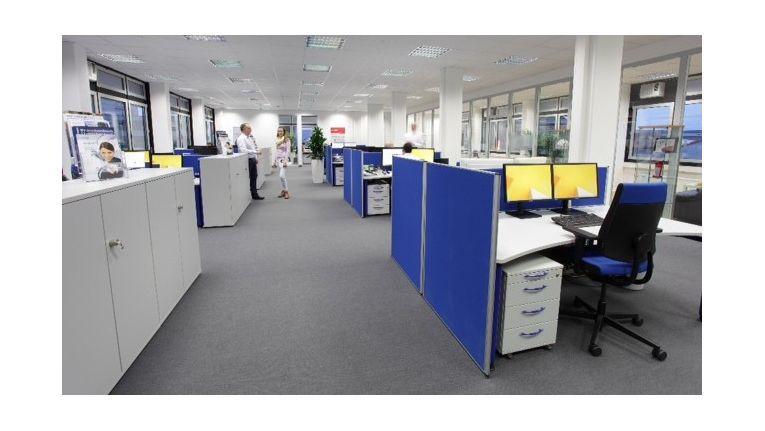 Das auf den Mittelstand fokussierte IT-Systemhaus hat im Herbst letzten Jahres seine Bürofläche in der Düsseldorfer Wiesenstraße verdoppelt.