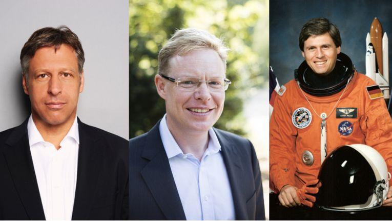 Stefan Mennerich vom FC Bayern, Stephan Schambach von Demandware und Ex-Astronaut Ulrich Walter erwarten die Teilnehmer 2015 mit spannenden Vorträgen.