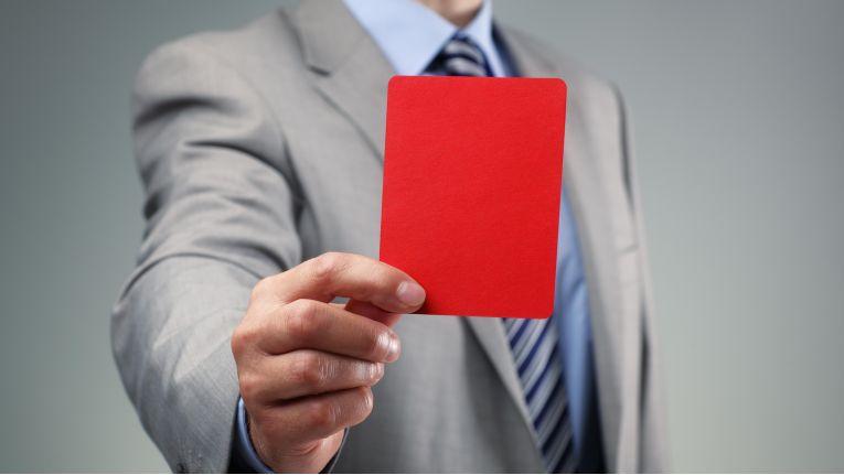 Wer im Geschäftsleben die Regeln des Benimms missachtet, muss mit bösen Konsequenzen rechnen.