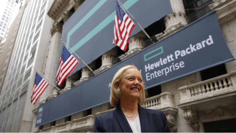 Meg Whitman, CEO von HP Enterprise, hat das IT-Servicegeschäft mit CSC verschmolzen. Das Software-Business landet nun bei Micro Focus.