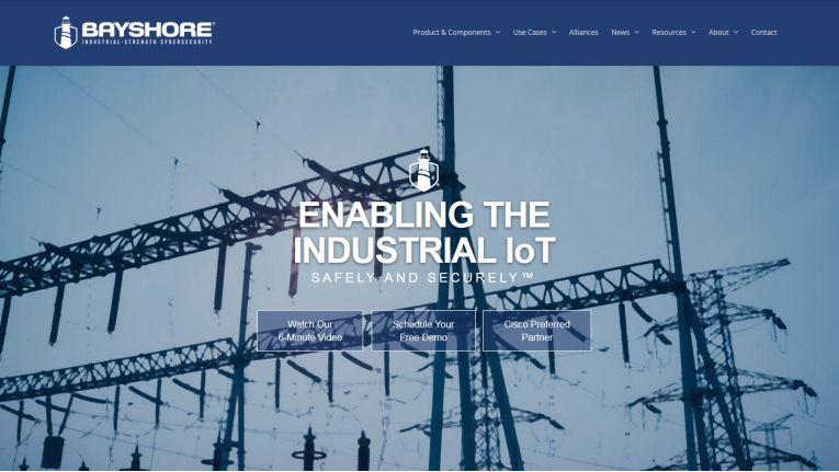 Das US-Unternehmen Bayshore Networks hat sich auf cloud- und on-premise-basierte IoT-Sicherheits-Technologien für die Industrie spezialisiert.