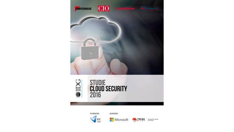 """Die IDG-Studie """"Cloud Security 2016"""" ist ab sofort im COMPUTERWOCHE-Aboshop erhältlich."""