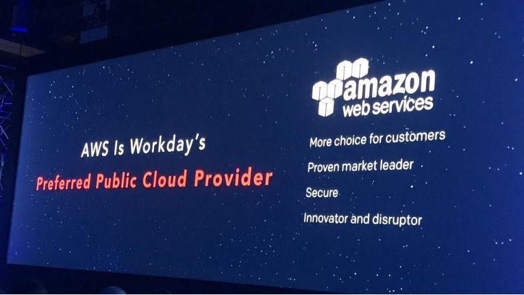 Workday, Anbieter von Finanz- und HR-Software aus der Cloud, hat sich AWS als bevorzugten Public-Cloud-Provider ausgesucht.