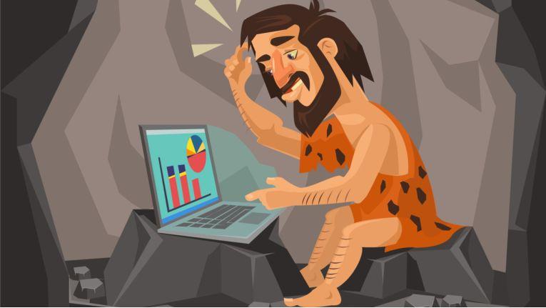 Die digitale Steinzeit ist lange noch nicht vorbei.