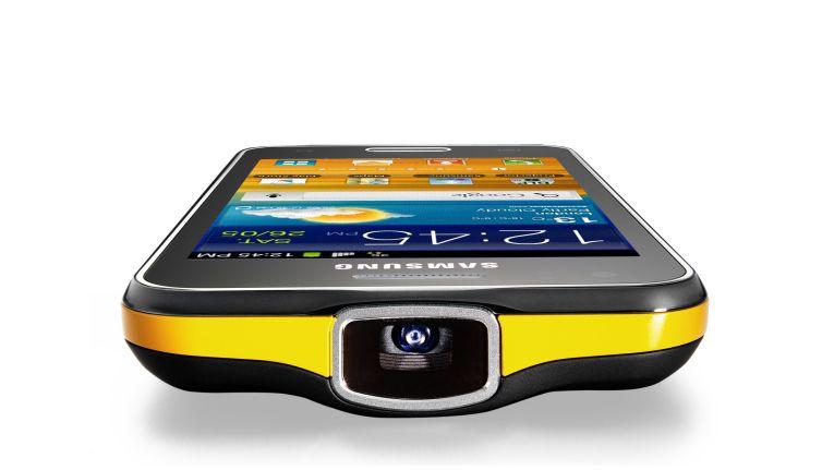Samsung Galaxy Beam mit integriertem Beamer