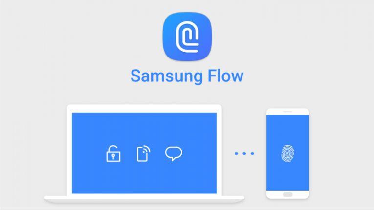 Samsung Flow: Fingerprint-Sensor des Smartphones entsperrt den PC.