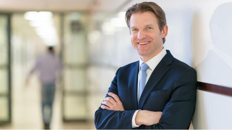"""Daniel Holz, Managing Director von SAP Deutschland: """"Unser Ziel ist, neue Partner zu gewinnen."""""""