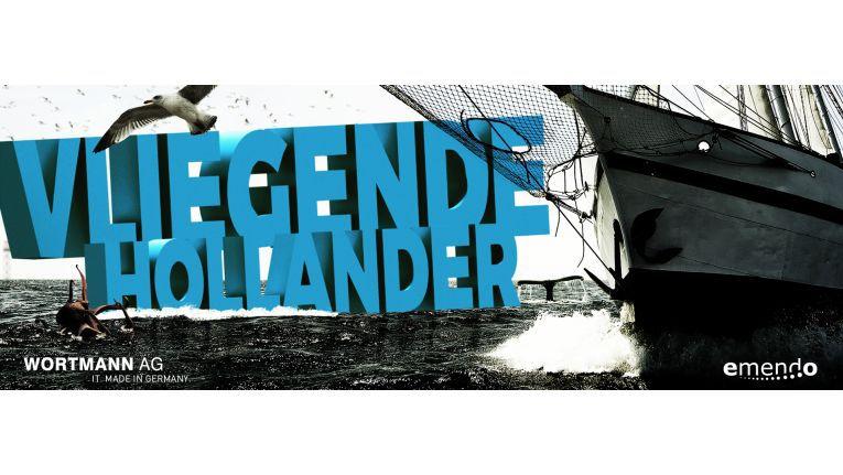 """""""Die Schonertakelage und die malerischen Linien lassen den """"Vliegende Hollander"""" als ein Prunkstück des Schiffbaus erscheinen"""", stimmt die Reederei potenzielle Emendo-Passagiere auf den Törn ein."""
