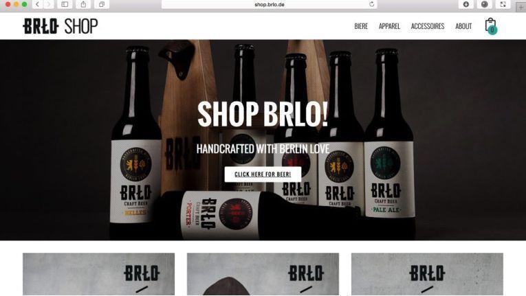 Beispiel für einen gelungen Online-Shop ist die Webpräsenz von BRLO Craft Beer aus Berlin: http://shop.brlo.de.