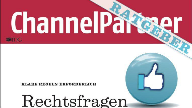 """Unter www.channelpartner.de/socialmedia können Sie sich den 11seitigen Ratgeber """"Rechtsfragen bei Social Medial"""" kostenlos herunter laden."""