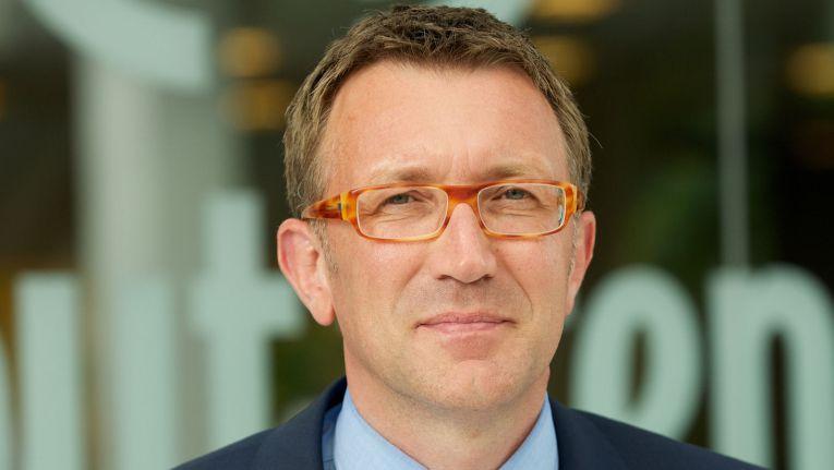 """Reiner Louis, Sprecher der Geschäftsführung bei Computacenter in Deutschland: """"Im neuen Office werden wir unsere Prozesse noch effizienter und leistungsfähiger gestalten können. Davon profitieren natürlich auch unsere Kunden."""""""
