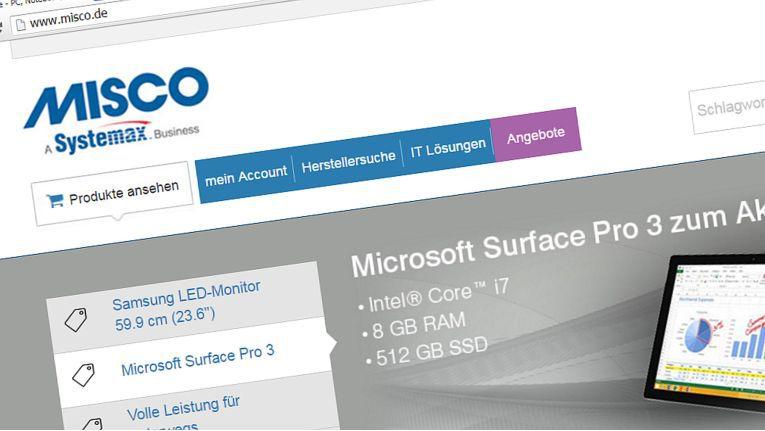 Kunden des Online-Shops Misco sollen künftig auch das komplette Cancom-Portfolio beziehen können.