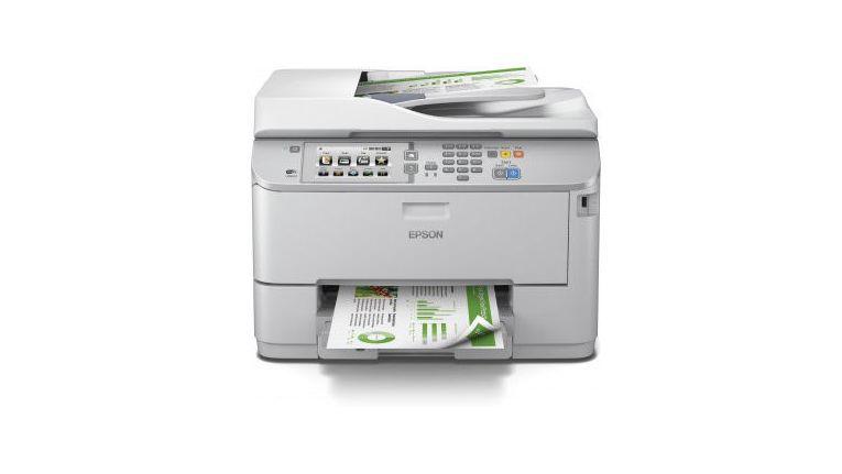 """Business-Tintenstrahldrucker """"Epson WorkForce Pro WF-5690DWF"""" für 654,50 Euro."""