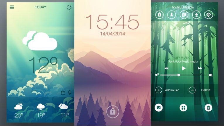 Mit einem neuen Hintergrundbild bringen Sie frischen Wind auf Ihr Smartphone.
