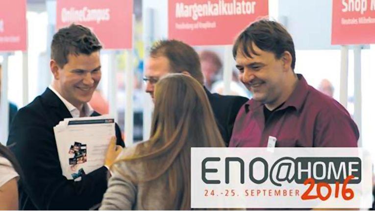Den Wandel in der Einkaufswelt aktiv mitgestalten: Neue Produkte, Awards, Informationen und die legendäre Hausmesse-Party warten auf die ENO-Partner.