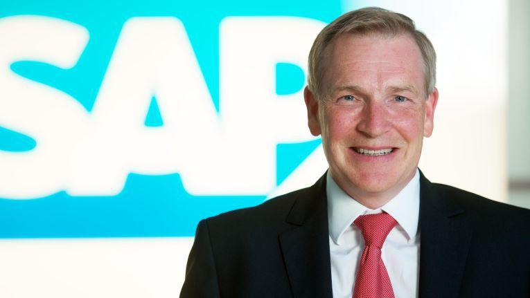 Nur noch bis zum 30. Juni 2017 Leiter Geschäftsbereich Mittelstand und Partner bei der SAP Deutschland: Jochen Wießler.