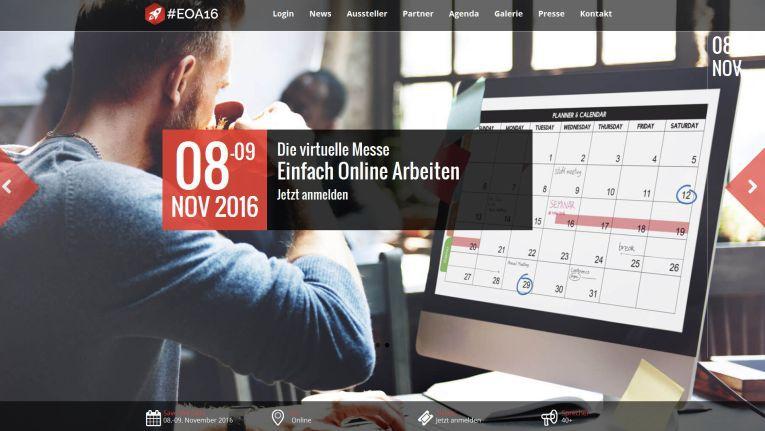 """Am 8. und 9. November 2016 dreht sich auf der #EOA16 alles um das Thema """"Digitalisierung und Kommunikation"""""""