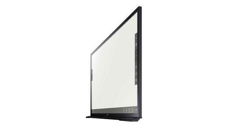 Die neue Touch-Lösung ist direkt im E-Board DM65E-BC integriert. Diese ermöglicht eine schlankere Bauform.