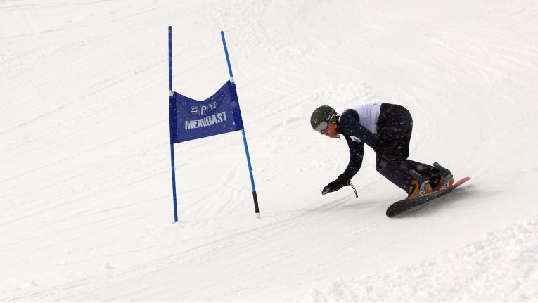 Auch Snowboarder sind beim ChannelPartner Race vom 31. März bis 2. April 2017 im Pitztal herzlich willkommen. Der schnellste IT-Boarder erhält einen Sonderpreis.