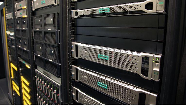 Server-Racks von HPE