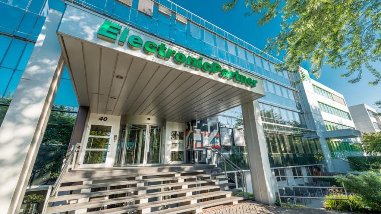 Die Zentrale von EP in Düsseldorf