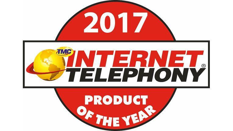 Mit der Auszeichnung prämiert die US-Zeitschrift jährlich die leistungsfähigsten Lösungen aus dem Bereich der IP-Telefonie.