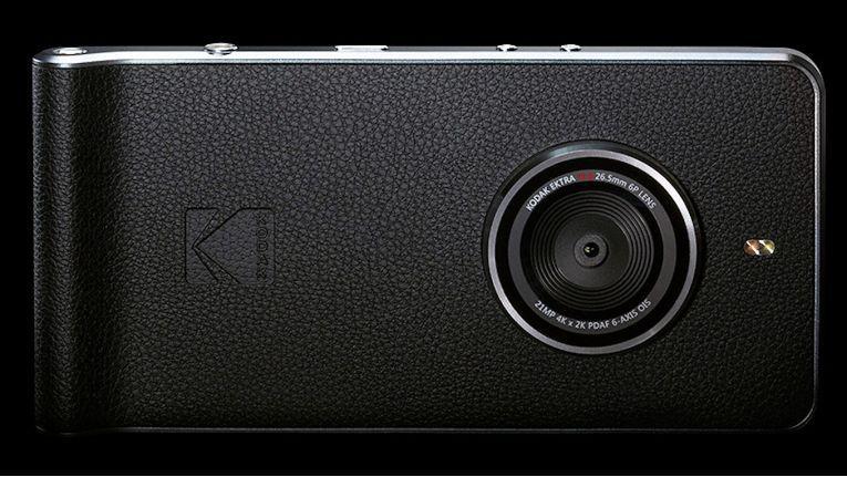 """Das Kodak Ektra Smartphone soll an die """"gute, alte Zeit"""" der Kodak-Fotoapparate erinnern, ist aber mit High-Tech und Android 6.0 vollgepackt."""