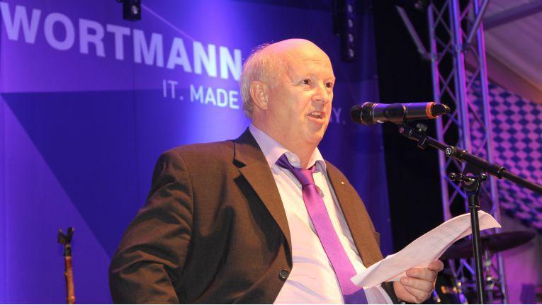 Firmengründer und Vorstandsvorsitzende der Wortmann AG, Siegbert Wortmann, spricht von einer ''grundsoliden Unternehmenspolitik''.