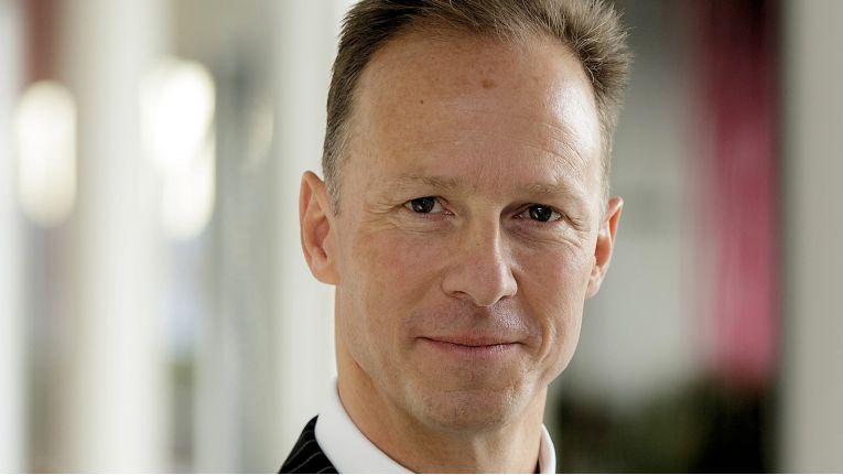 """Patrick Molck-Ude, Geschäftsführer Telecommunication Division bei T-Systems: """"Wir unterstützen und beraten Unternehmen, wie sie Collaboration weiter ausbauen und gewinnbringend für sich nutzen können."""""""