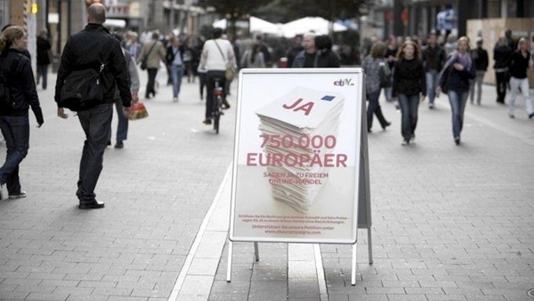 Auch eBay-Händler leiden unter Vertriebsbeschränkungen. 2009 hatte der Online-Marktplatz deshalb eine Petition initiiert.