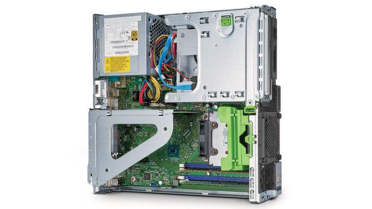 Als branchenweit leistungsfähigste SFF Workstation ihrer Klasse, stellt Fujitsu die Celsius J550/2 mit Full-Height-Grafikkarten vor.