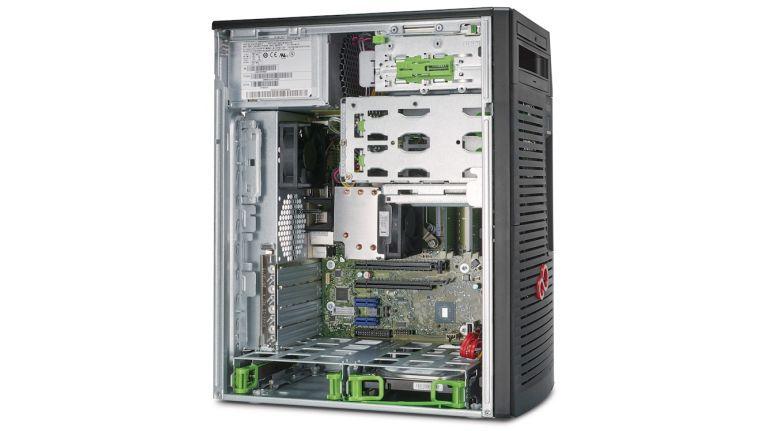 Der Celsius W570 Microtower glänzt mit innovativem und platzsparendem Design sowie günstigem Workstation-Preis.