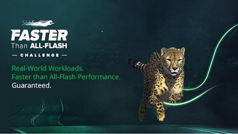 Die Challenge will beweisen, dass Flash-Speicher im Array bei Workloads kein Allheilmittel ist.