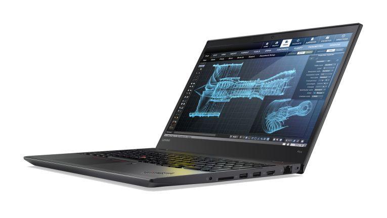 ThinkPad P51s: Mit Dual-Core-Prozessor und Qadro-M520M-Grafik.