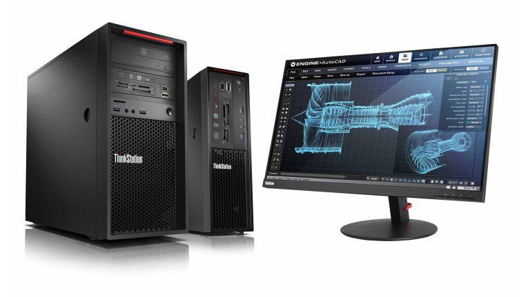 ThinkStation P320: Lenovo bietet die neuen Workstations in verschiedenen Gehäusen an.