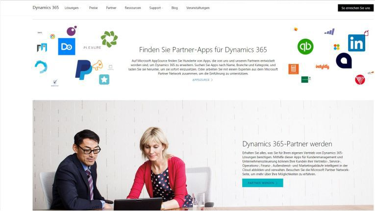 Hier finden Dynamics 365-Interessenten die qualifizierten Microsoft-Partner.