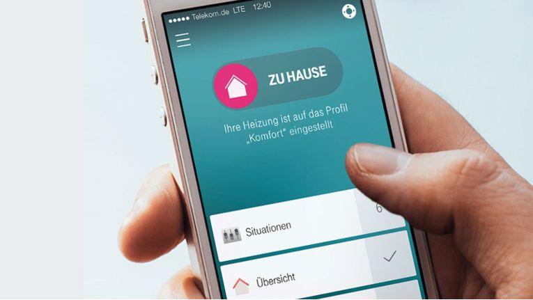 """Zum Lieferumfang des von der Deutschen Telekom angebotenen White-Label-Smart Home-Portfolios """"Qivicon"""" gehört auch eine App."""