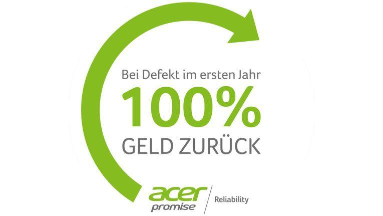 Das erfolgreiche Acer Reliability Promise-Programm besteht bereits seit 2013 und wird seitdem kontinuierlich um neue Geräte erweitert.
