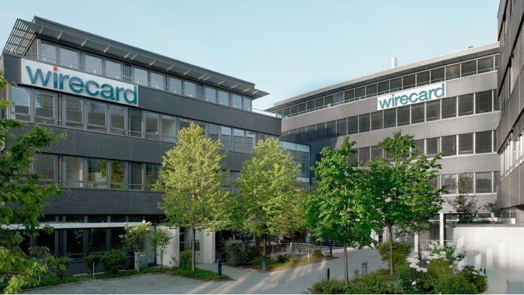 Der Hauptsitz der Wirecard AG in Aschheim bei München