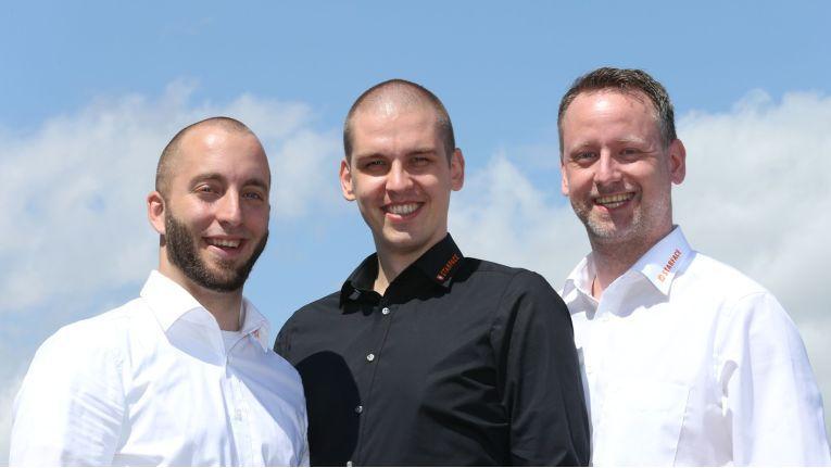 Von links: Dirk Glaser, Kevin Härtel und Martin Stöhr verantworten in der Starface Academy ab sofort als zertifizierte Trainer gemeinsam die Weiterbildung der Channelpartner in Sachen VoIP-Kompetenz.