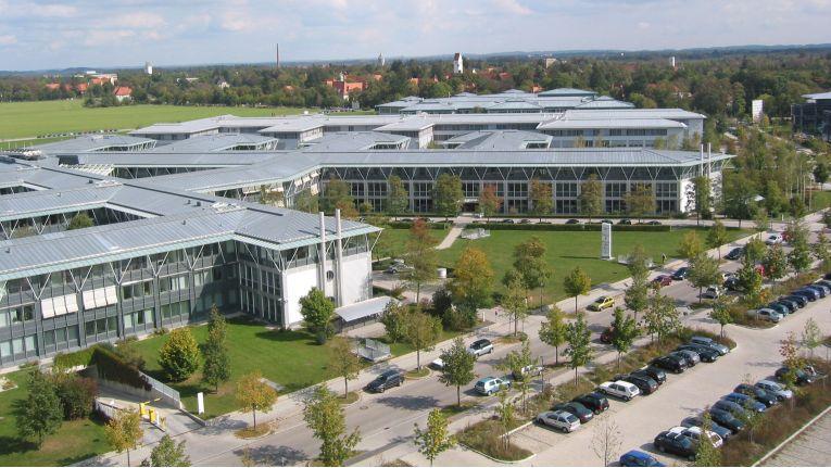Der neue Bürokomplex von Infinigate in Haar, östlich von München
