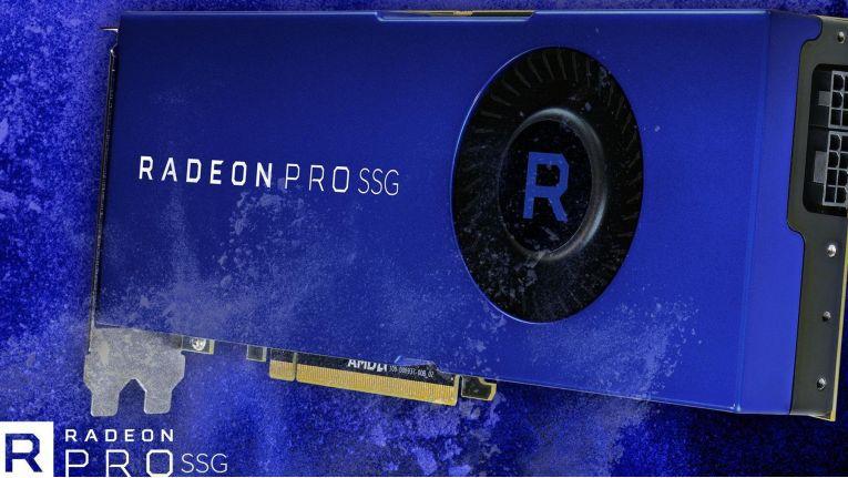 Ab dem 13. September erhältlich: Die Radeon pro SSG mit 2 TB Speicher für 7000 Dollar.
