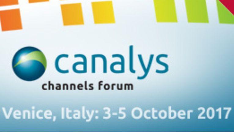 Das Canalys Channels Forum EMEA 2017 wird vom 3. Bis 5. Oktober 2017 in Venedig stattfinden.