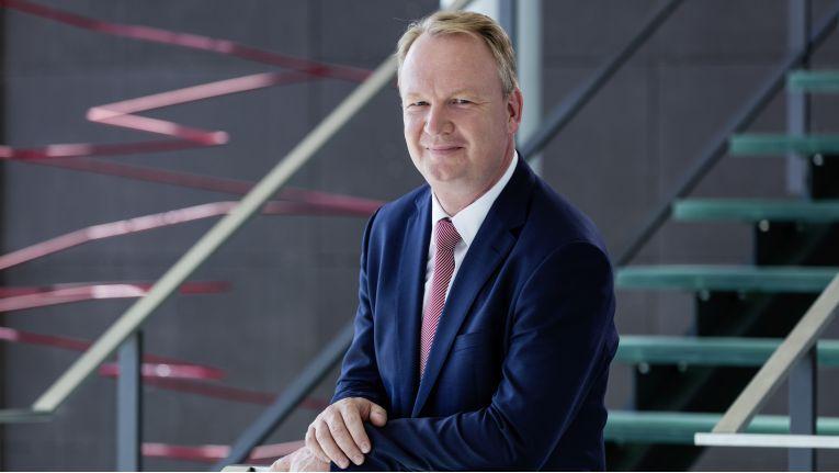 """Christian Boellert. Vorstand bei der msg Services AG: """"Cloud hat auch im Mittelstand deutlich an Fahrt aufgenommen."""""""