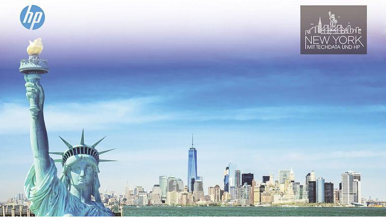 Wer jeden Monat seine Zielvorgaben bis Ende Januar 2018 erfüllt, ist bei der Verlosung der New York-Reise dabei.